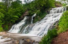 червоноград водоспад