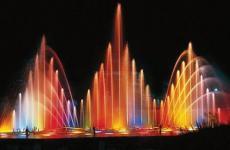 Шоу фонтанів