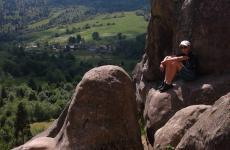 пейзаж карпати