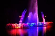 фонтани рошен