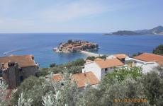 Чорногорія острів Святий Стефан