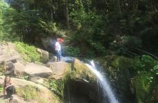 водоспад карпатські гори