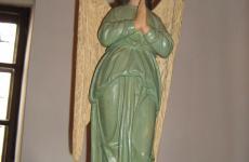 діва марія скульптура